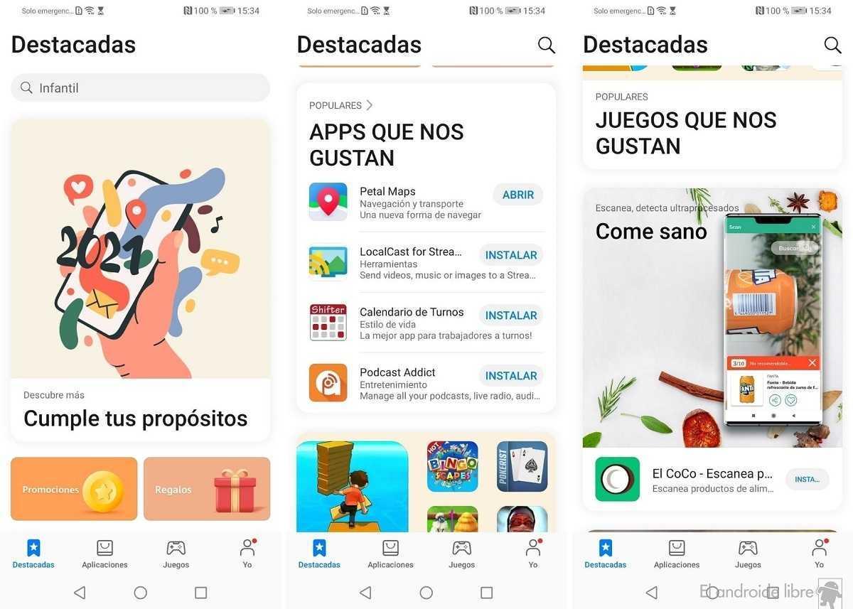 Huawei met à jour la conception de l'AppGallery pour faciliter la découverte de nouvelles applications