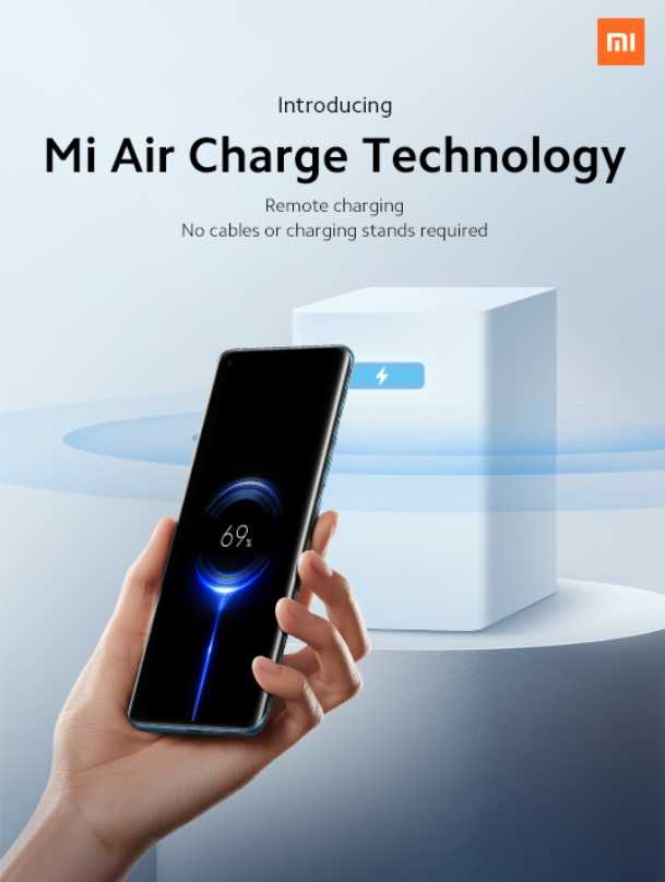 La nouvelle charge sans fil de Xiaomi ressemble à de la science-fiction