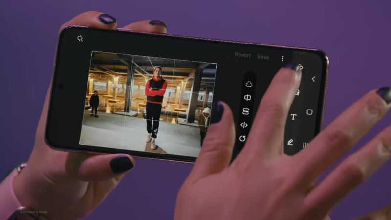 L'appareil photo Galaxy S21 peut supprimer des personnes des photos