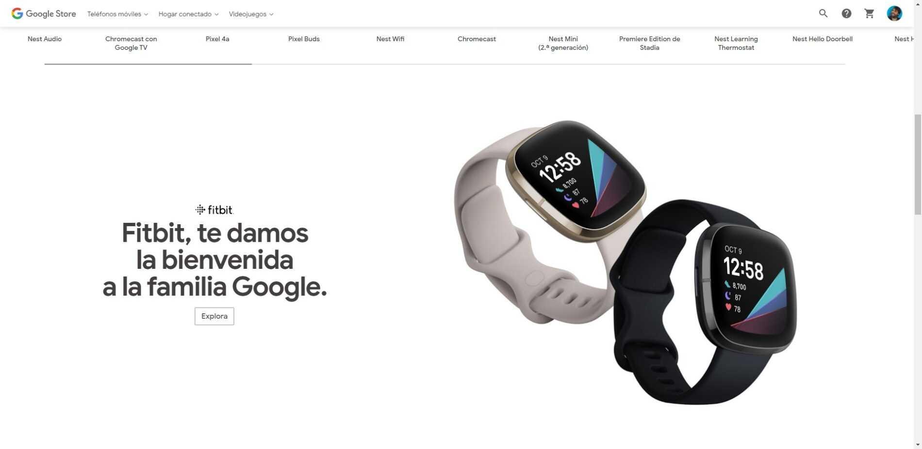 Le Google Store accueille Fitbit et affiche ses montres dans le magasin