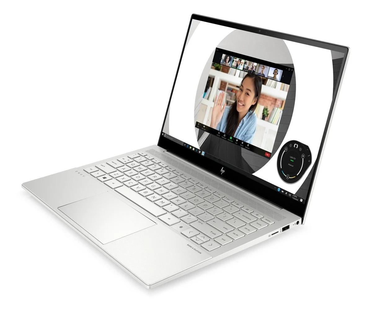HP Envy 14 ouvert avec écran, clavier et pavé tactile visibles