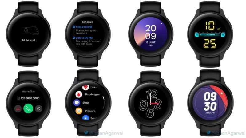 Conception de la montre OnePlus