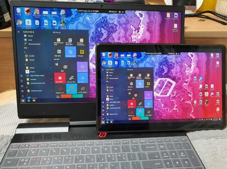 Les Galaxy Tab S7 et S7 + peuvent devenir un moniteur pour votre PC