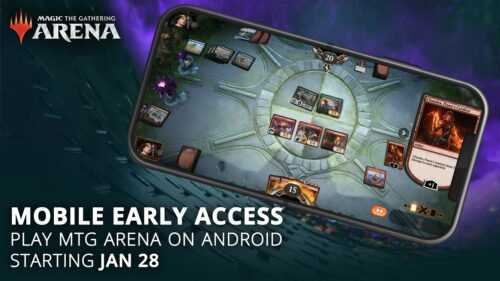 Magic: The Gathering Arena peut maintenant être téléchargé sur Android