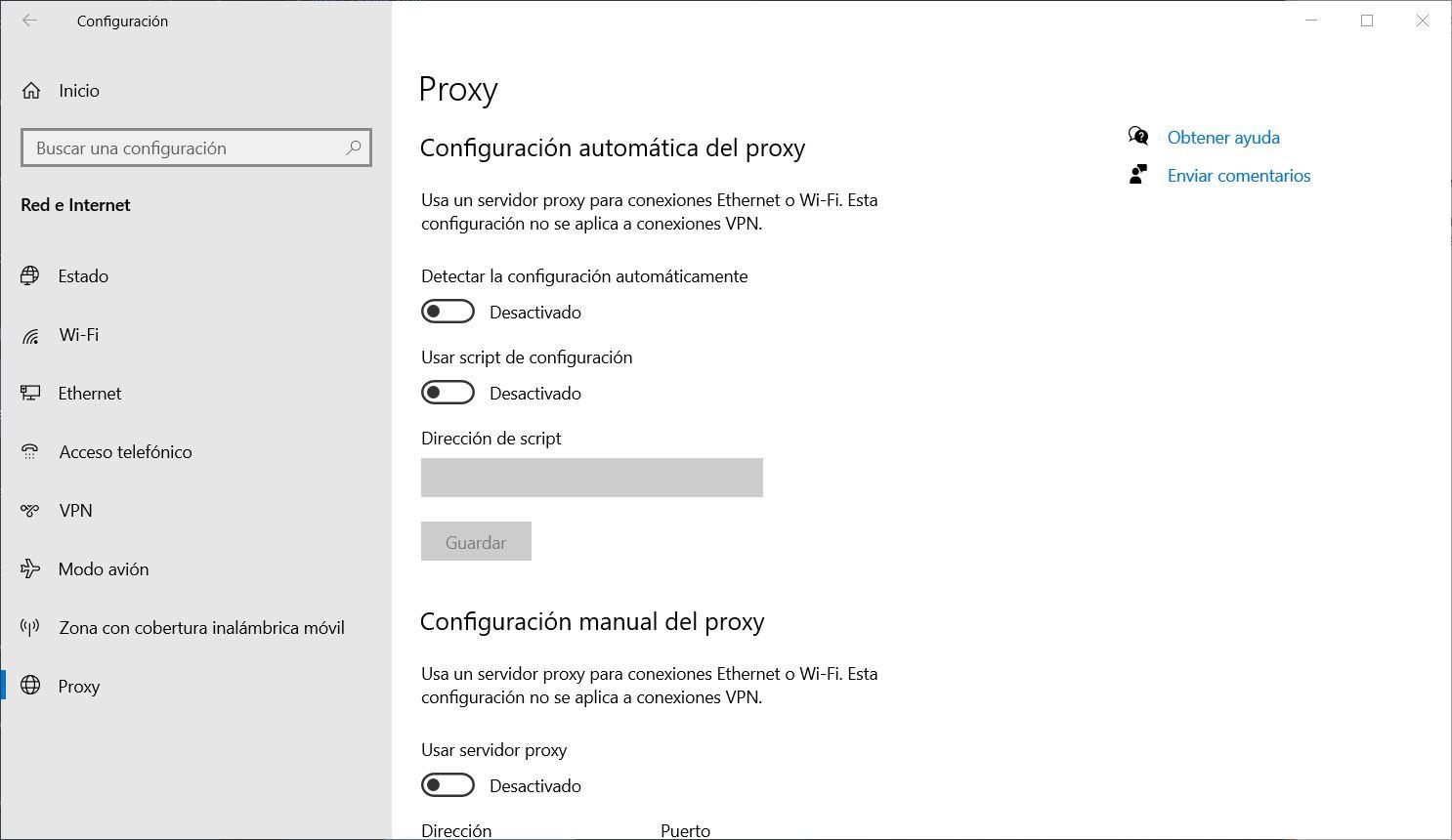 Désactivez les paramètres de proxy de Windows 10 pour augmenter la vitesse de Microsoft Edge 88