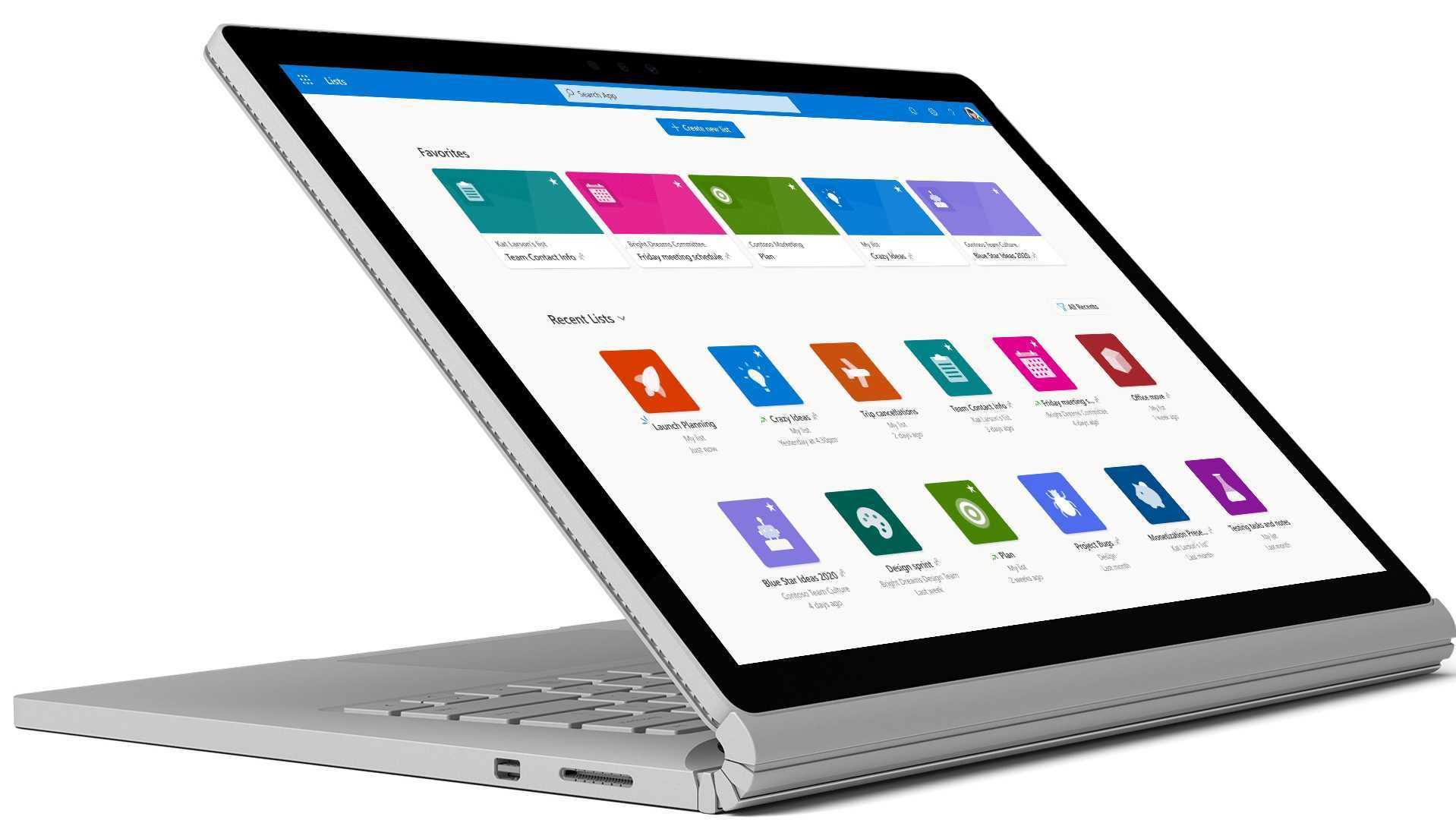 Microsoft Lists arrive sur iOS en janvier