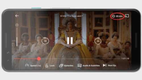 Netflix pour Android aura une minuterie au cas où vous vous endormez