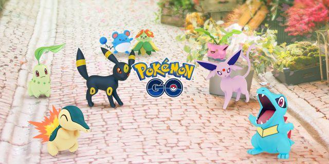Pokémon GO - Événement de célébration de Johto