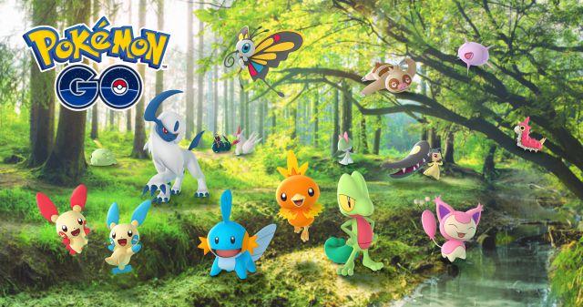 Pokémon GO - Événement de célébration Hoenn