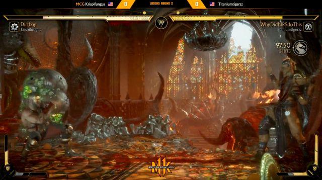 Tournoi compétitif de blague disqualifié à 11 joueurs de Mortal Kombat