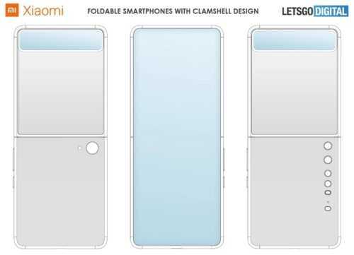 Coque pliante brevetée Xiaomi