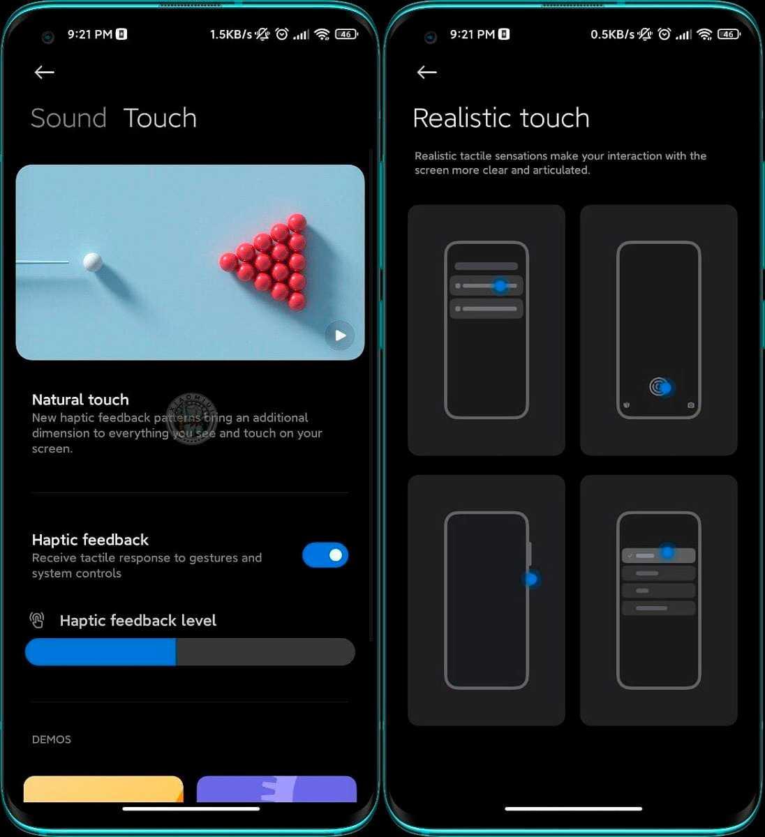 Xiaomi travaille sur un nouveau système de vibration pour MIUI 12.5