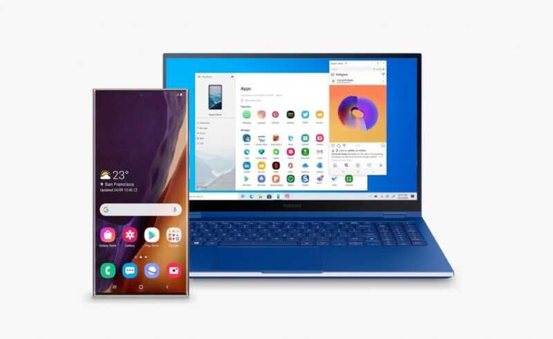 L'application Quick Share de Samsung arrive sur Windows 10