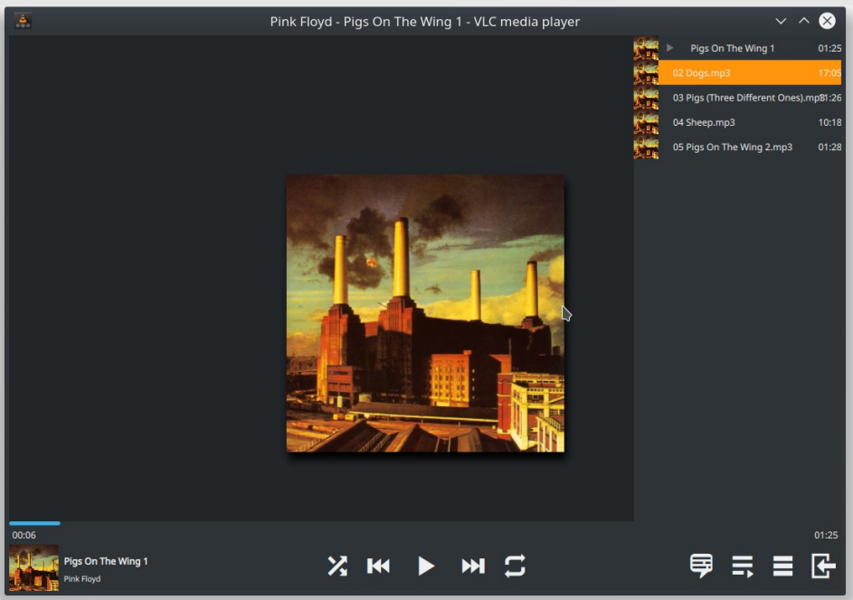 Nouvelle interface VLC 4.0