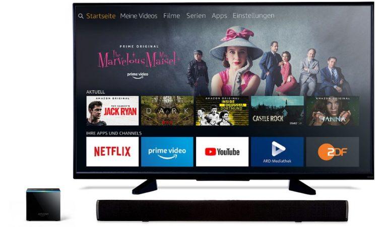 Le Fire TV Cube souhaite également contrôler votre télévision et votre barre de son.  Subjectivement, c'est déjà le meilleur lecteur de streaming actuellement.  (Photo: Amazon)