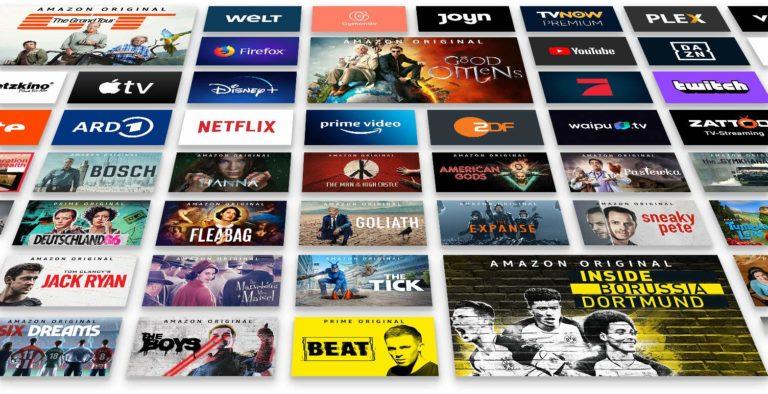 Au fait: le Fire TV Cube dispose également d'un navigateur pour surfer sur le net.  Quel autre lecteur de streaming peut faire ça aussi?  (Photo: Amazon)
