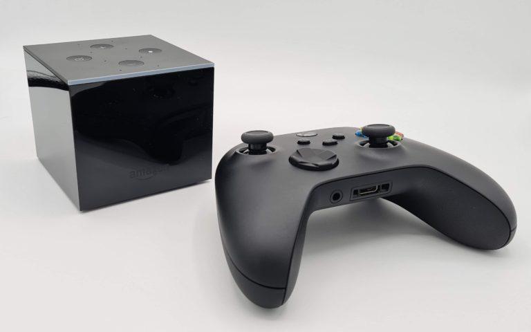 Vous pouvez bien sûr également jouer avec le Fire TV Cube.  Certaines applications via sideload sont recommandées ici.  (Photo: Sven Wernicke)