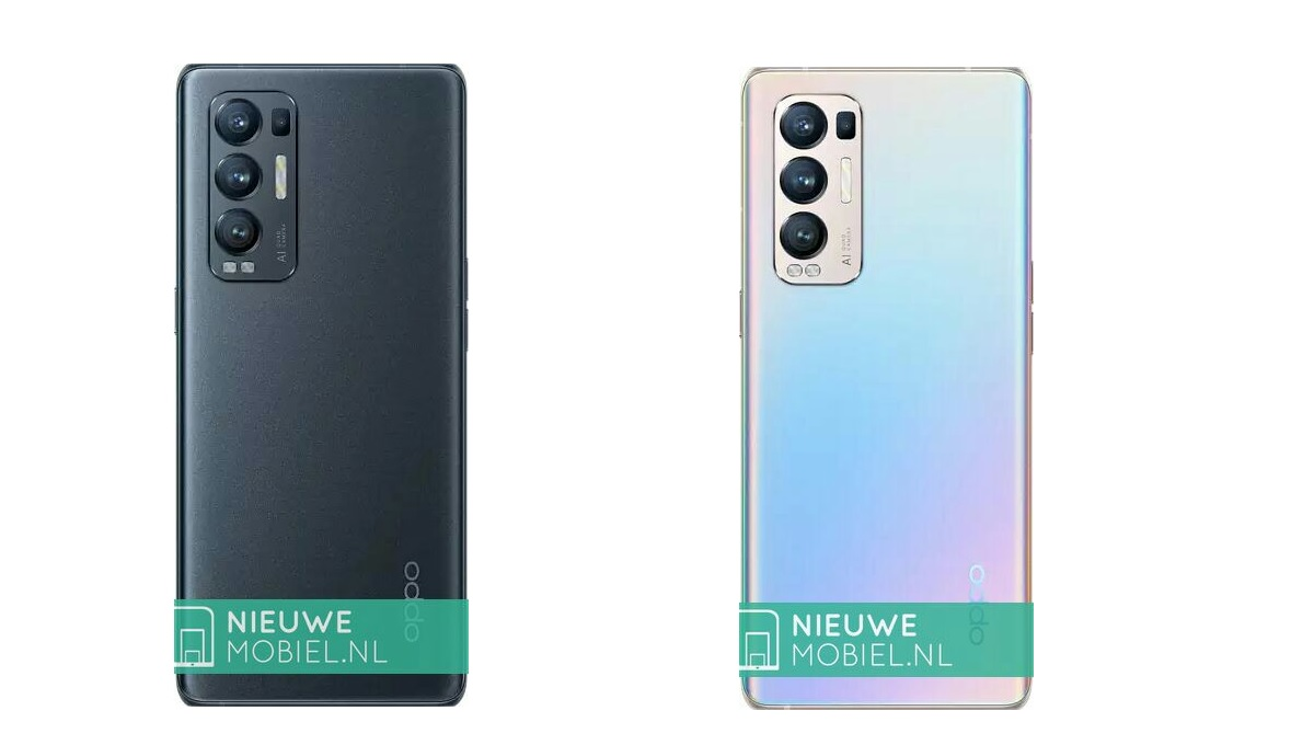 Couleurs OPPO Find X3 Neo