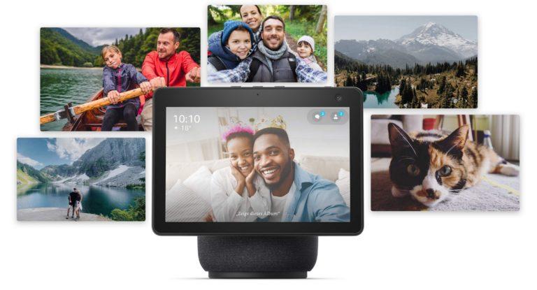 Utilisez Amazon Echo Show comme cadre photo intelligent.  Image: Amazon
