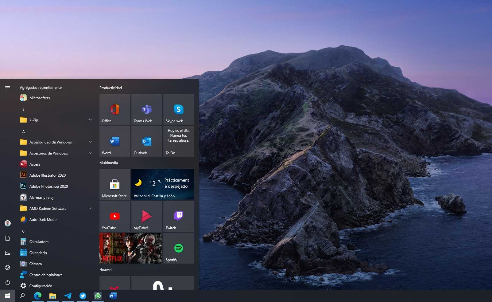 Windows 10 Sun Valley pourrait inclure un menu Démarrer totalement repensé