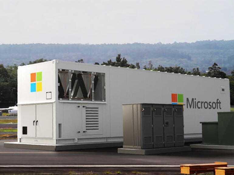 Microsoft expédie un centre de données dans un conteneur de 40 pieds.  Qu'y a-t-il à l'intérieur et à quoi ça sert?