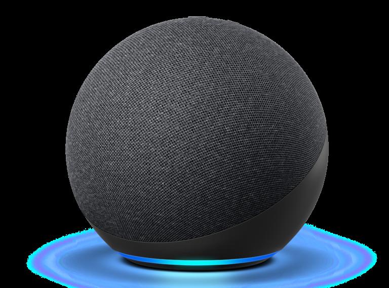 Entre autres choses, l'Echo (4ème génération) peut être couplé avec le Fire TV Cube.  (Photo: Amazon)