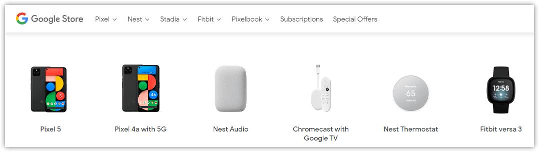 Google vend déjà des montres Fitbit dans son magasin et a déjà plus d'importance que Wear OS