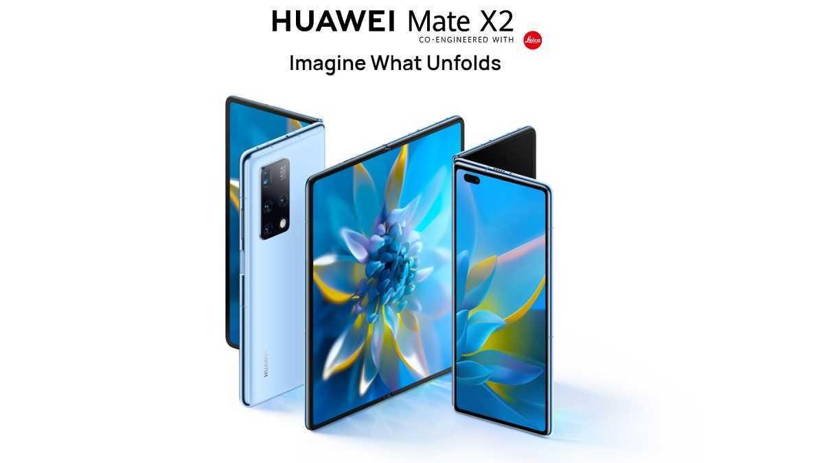 Conception du Huawei Mate X2