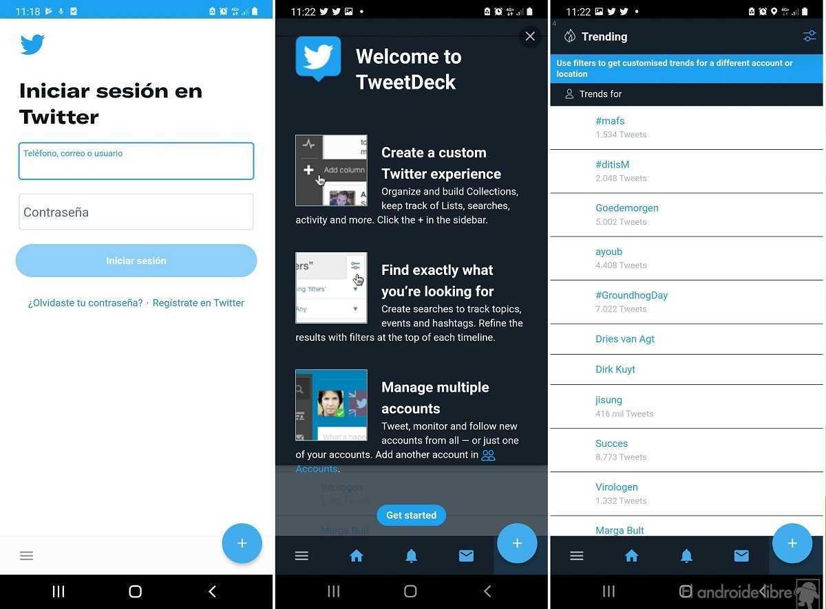 MarinDeck: l'application qui apporte l'expérience TweetDeck à Android