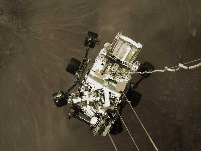 Photos: vues martiennes de Perseverance en couleur, panorama, etc.