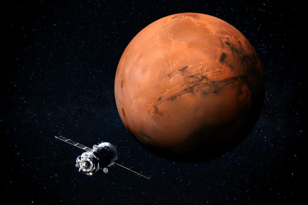 Sonde vers Mars