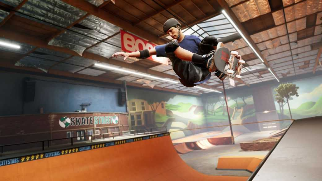 Premier gameplay Pro Skater 1 + 2 de Tony Hawk sur Nintendo Switch