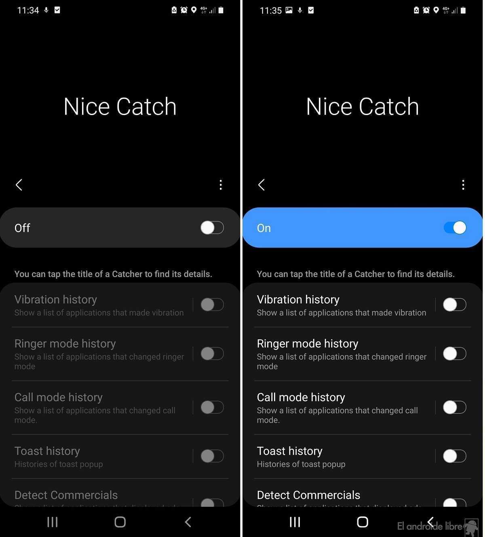 Samsung Nice Catch: découvrez ce que fait chaque application sur votre téléphone