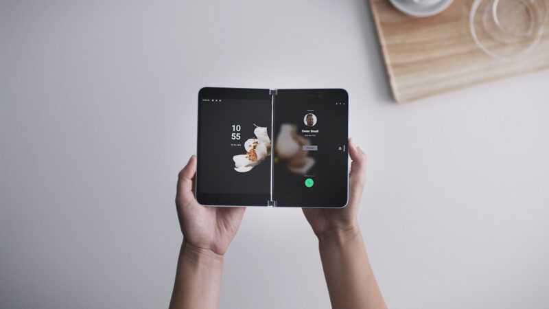 Surface Duo est mis à jour avec la version de février à son arrivée en Europe