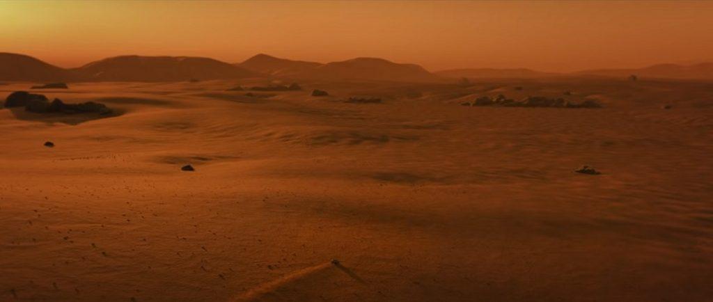 image d'un clip vidéo essentiel à l'exploration de Mars, diffusé par le groupe Fridays For Future (FFF), mouvement fondé par la militante suédoise Greta Thumberg.