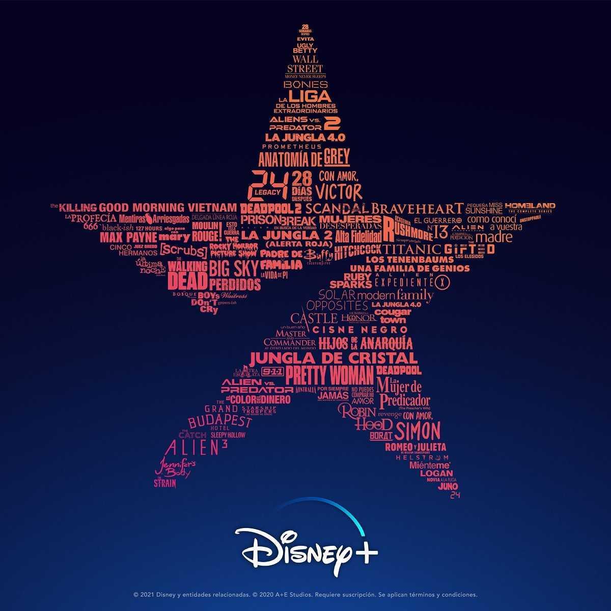 Disney + étoile