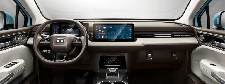 """""""Smartphone on Wheels"""": Le concept intérieur Aiways"""