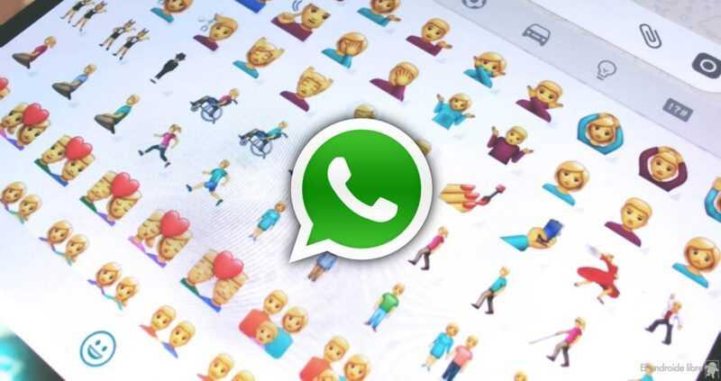 Utilisez les nouveaux emojis sur WhatsApp: déjà dans la dernière version bêta