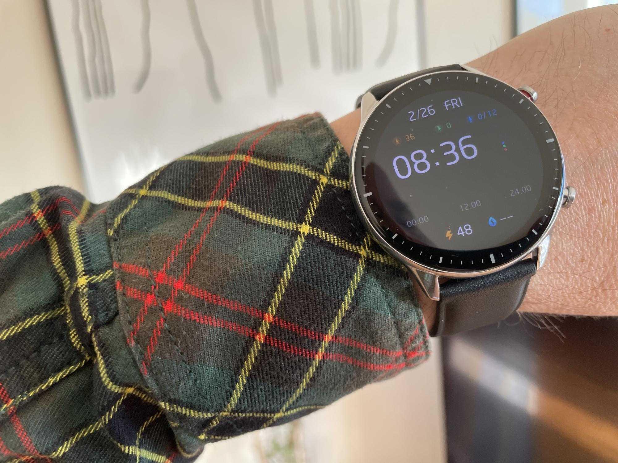 Test: Amazfit GTR 2 - Smartwatch sobre et sportive