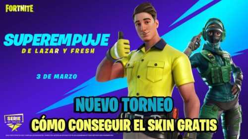 Fortnite: Annonce du tournoi Lazar et Fresh Super Push;  comment obtenir le skin Lazarbeam gratuitement