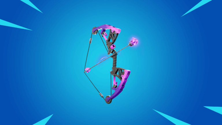 The Mechanical Shockwave Bow in Fortnite.