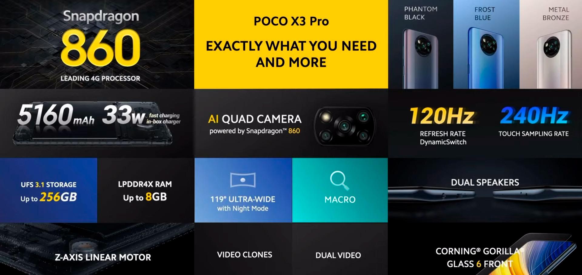 1616781607 345 POCO X3 Pro maintenant en vente a un prix imbattable