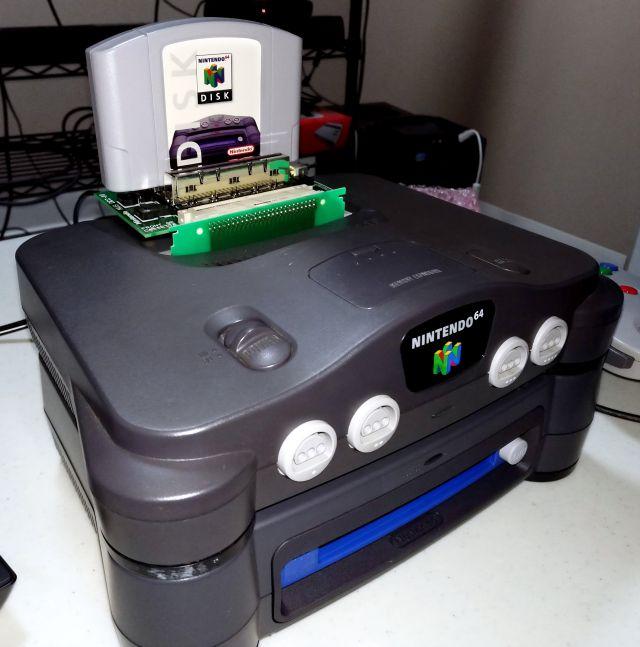 C'était les kits de développement Nintendo 64DD