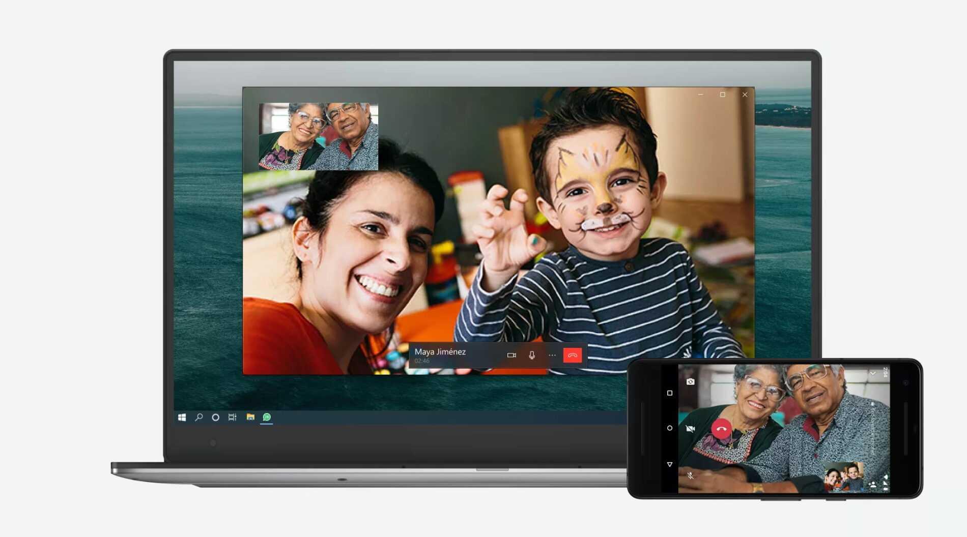 Appels et appels vidéo pour WhatsApp Web et PC, maintenant disponibles pour tout le monde