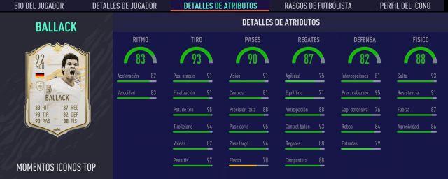 FIFA 21 Ballack Moments Icon Solution pour tous les objectifs