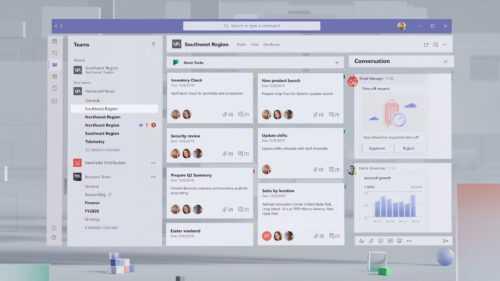 Microsoft Teams reçoit son nouveau design basé sur Fluent Design