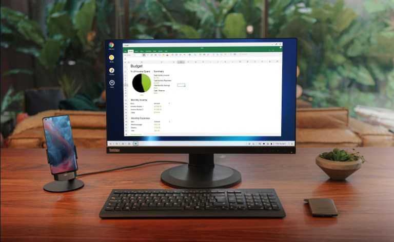 Motorola transforme le Motorola Edge + en le meilleur PC pour passer des appels vidéo