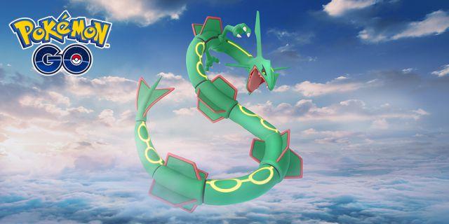 Rayquaza revient sur Pokémon GO