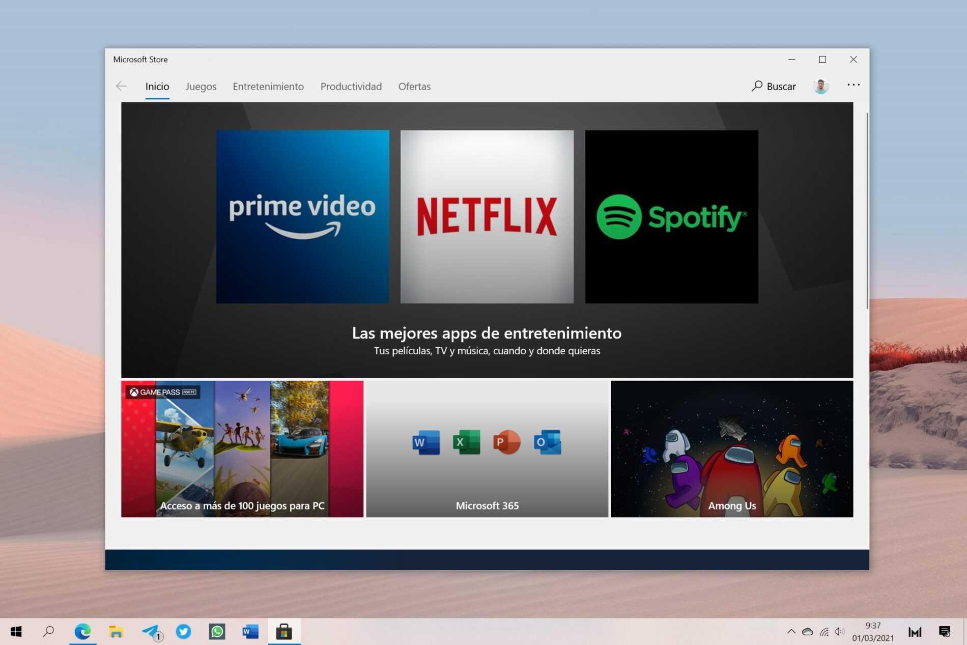 Sun Valley apporterait un nouveau magasin à Windows 10