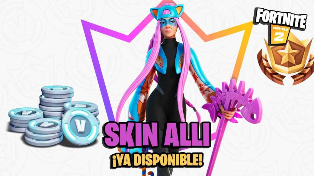 Fortnite Club avril 2021: le skin Alli et ses objets maintenant disponibles